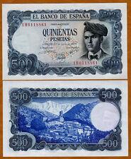 Spain, 500 Pesetas, 1971 (1973), P-153, UNC > Pre-Euro