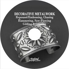 Art/Decorative Metalwork:Repousse/Embossing,Chasing,Hammering,Saw-Piercing onCD