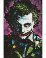JOKER - FISHWICK ART POSTER - 24x36 DC COMICS BATMAN 51687