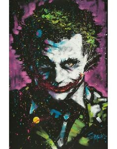 The Joker poster wall art home decor photo print 16x24 24x36 20x30