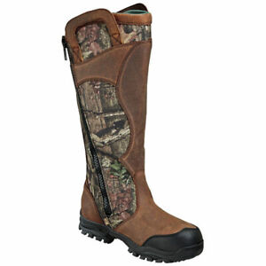 "Thorogood 1400 Snake Bite 17"" Side Zipper Outdoor Snake Boot"