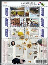 NVPH V 2658-2663 c GRENZELOOS NEDERLAND & BRAZILIE  C  postfris