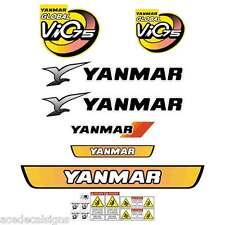 Yanmar VIO75 Decals Stickers Kit Set Mini Excavator