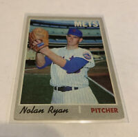 1970 Topps #712 Nolan Ryan New York Mets MLB NM