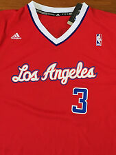 Los Angeles Clippers Chris Paul XL Men's NBA Jersey Red Adidas Authentic Shirt
