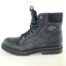 G-STAR RAW Mens Ankle High Black Boots Shoes Size EU42 US9 UK8.5