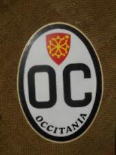 OCCITANIA Autocollant Sticker NOS True Vintage 80s Occitanie Blason OC 12 cm 4.7