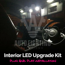 Audi TT MK2 LED Interior Lights Bulbs Kit 4PC Xenon White Upgrade (2006 onwards)