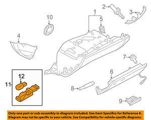 AUDI OEM 08-16 A5 Quattro-Glove Compartment Box Light 8D0947415