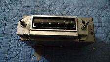 1963-64 Vintage Chevrolet Full Size Car Push Button Radio