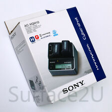 Original SONY AC-VQH10 Dual V H P Series Battery Charger US Power Supply Genuine