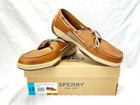Sperry Men's Intrepid Boat Shoe Leather Tan STS22664 Pick Size 11/12/13