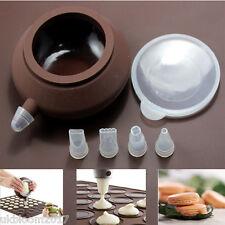 Para hornear macarones Macaroon Hornear Mat Cake Decorating Pen 4 Juego De Boquillas Muffin pastelería Hoja