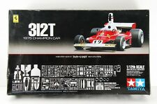 TAMIYA 1/12 Ferrari 312T BIG SCALE SERIES 1975 ETCHED PARTS INCLUDED RARE!!