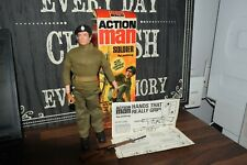 VAM Palitoy Action Man boxed soldier gripping hands 1964 excellent