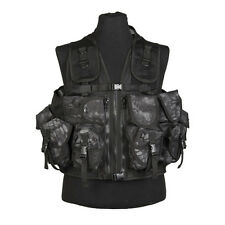9 Pouch Tactical Assault Combat Airsoft Military Army Vest Krytek Mandra Typhon