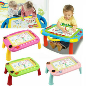 Kids Drawing Board Writing Sketch Pad Erasable Magna Doodle Toy Xmas Gifts 2020