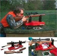 Rifle Cleaning Rest Carbine Gun Vise Bench Range Shooting Sighting Pad Portable