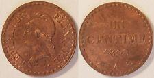 1 Centime Dupré 1848 A, SPL !!