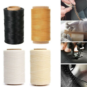 Tool Hand Stitching Handicraft Flat Leather Sewing Line Waxed Thread Cord