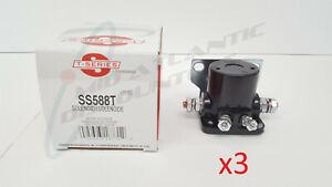 3 Standard Motor/T-Series SS588T Starter Solenoids, Ford, Lincoln, Mercury