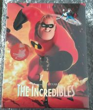 THE INCREDIBLES STEELBOOK [NEW/OOP/Blu-ray] KimchiDVD Tripack Exclusive