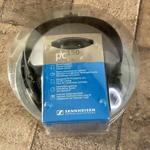 Sennheiser Communications PC150 Stereo Headset With Noise Cancelling Microphone