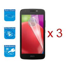 3 x Screen Protector Cover Guard LCD Film Foil For Motorola Moto E4 Plus NEW