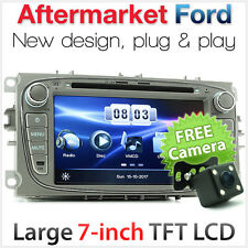 """7"""" Car DVD Radio For Ford Focus Mondeo Player Stereo Head Unit USB MP3 MP4 CD SD"""