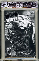 🔥🔥 BATMAN BLACK & WHITE #1 SUAYAN HOMAGE EGS 9.8 not CGC #423 MCFARLANE JOKER