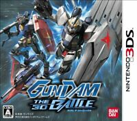 USED Nintendo 3DS GUNDAM THE 3D BATTLE 94118 JAPAN IMPORT