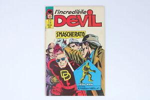 L'INCREDIBILE DEVIL EDITORIALE CORNO N° 24 ANNO 1971 [EH-024]