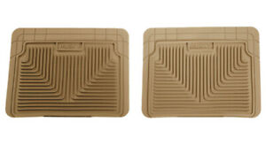 Husky Liners 2nd or 3rd Seat Floor Mats - Tan for 94-01 Integra / 07-08 MDX