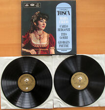 AN 149-50 ED1 Puccini Tosca Maria Callas 2xLP White Angel Mono EXCELLENT