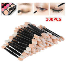 Lot 100pcs Disposable Dual Sides Eye Shadow Sponge Applicator Makeup Brush POZ