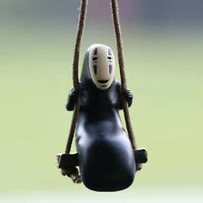 For Spirited Away No Face Man Mini Car Hanging Ornament Swing Anime Pendant 5cm