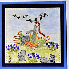 Migrating Birds Retired U get photo2 L@@K@examples art impressions rubber stamps