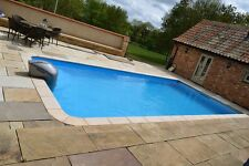 SWIMMING POOL ONE PIECE EASY INSTALLATION 15 YEAR GUARANTEE 6m x 3m MADE IN UK