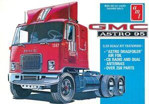 Amt/ Mpc 591140 - 1/25 GMC Astro 95 Semi Tracteur - Neuf