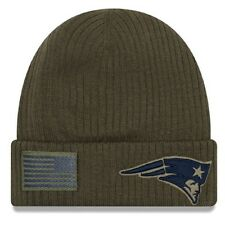 New England Patriots New Era 2018 Sideline Salute to Service Cuffed Knit Hat