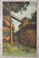 """CPA """" HAUT BARR - Le Pont du Diable"""