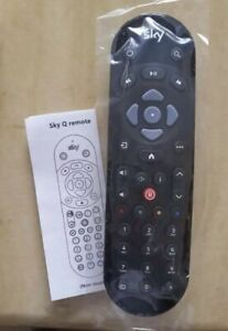 GENUINE QUALITY SKY Q REPLACEMENT REMOTE FOR SKY TV INFRARED CONTROL UK SELLER