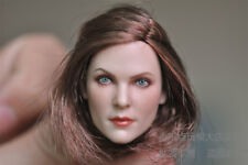 1/6 GC006 Female America brown hair sexy girl Head Sculpt to Charlize Theron