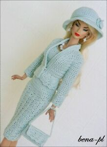 bena-pl Clothes fits Silkstone, FR Victoire Roux, Vintage Repro OOAK  outfit