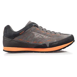Altra Grafton Mens ZERO DROP Cushioned Trail Running/Hiking Shoes Black/Orange
