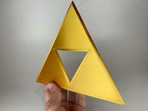 The Legend of Zelda Life-size Large Golden Triforce (Ocarina of Time) (Majora)