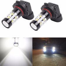 2x 9006 HB4 6000K Super White 50W High Power LED CREE Fog Driving Lights Bulbs
