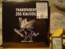 ZOS KIA/COIL Transparent 2xLP/+2/1984 UK/Nekrophile Rekords/Ain Soph/Zero Kama