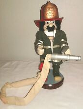 Zims 1998 Heirloom Collectibles Fire Chief Nutcracker, Firefighter Christmas