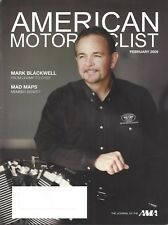 AMA Magazine February 2009 Mark Blackwell Champ to Chief-1st Crash Study 30 yrs